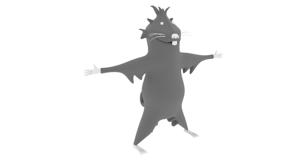 Ardilla.jpg Download free OBJ file Marmot • Model to 3D print, EdFernandez