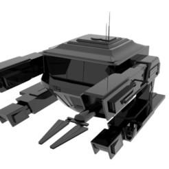 Pod2.jpg Download OBJ file Spaceship • 3D printable design, EdFernandez