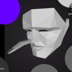 Descargar archivos 3D ARCHIVO DE IMPRESIÓN 3D _ MÁSCARA DE ALTER EGO, lakrok