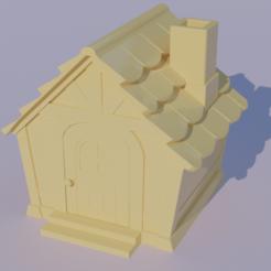 Casa.png Télécharger fichier STL La maison du villageois de la traversée des animaux • Plan pour imprimante 3D, JuanCatalan410
