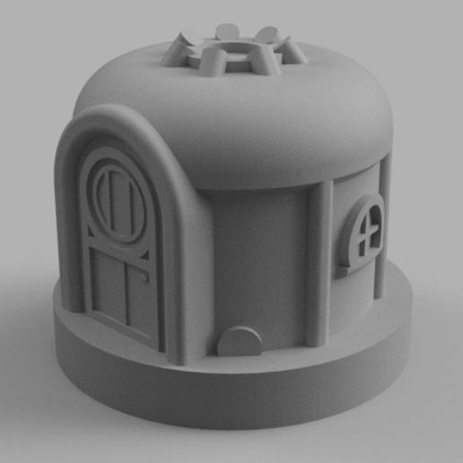 Download free STL file Village Yurt • 3D printer object, Piggie
