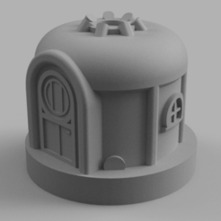 Download free STL file Village Yurt • 3D printer object, Piggie