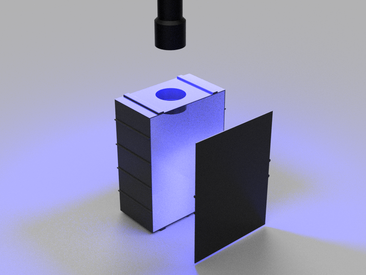box2.png Download free STL file UV Curing Box [Anycubic Photon] • 3D printing model, Piggie