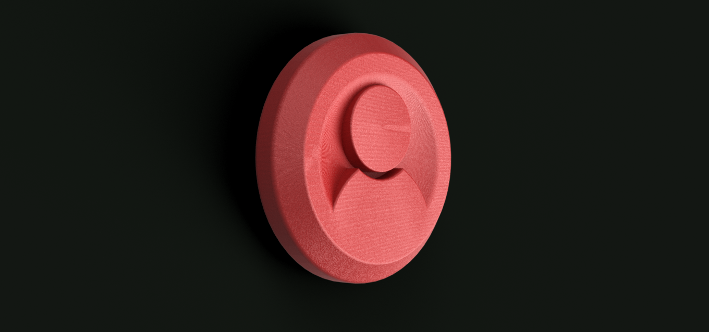 TOKEN.png Télécharger fichier STL gratuit Jeton de jeu • Objet pour imprimante 3D, Piggie