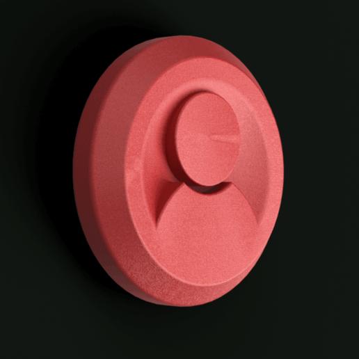 Télécharger objet 3D gratuit Jeton de jeu, Piggie