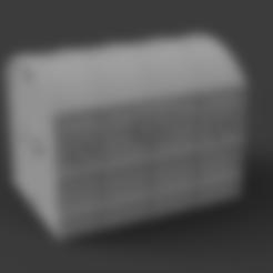 Descargar diseños 3D gratis Cofre de madera, caja imprimible, Piggie
