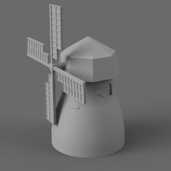 Download free STL file Windmill • 3D printing template, Piggie