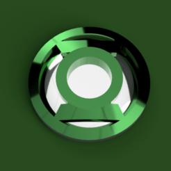 Download free 3D printer model Green Lantern's Badge, Piggie