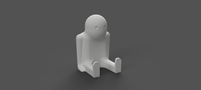 Bob_the_Thinker.png Télécharger fichier STL gratuit Bob le Penseur • Design imprimable en 3D, Piggie
