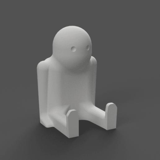 Download free 3D printing designs Bob the Thinker, Piggie