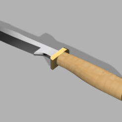 Download free 3D printing files Hunting Knife, Piggie
