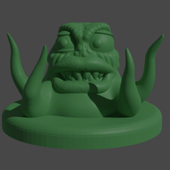 TentacleMonster.png Download free STL file Terry the Tentacle Monster • 3D printer template, Piggie