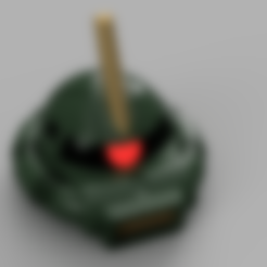 Zaku_Helmet_Fullv1.stl Download free STL file Zaku II Commander Helmet - Gundam • 3D printer template, Piggie