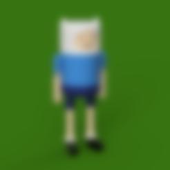 Download free STL file Finn - Articulated Toy • 3D print template, Piggie