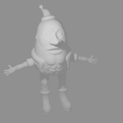 Download free STL file Weird Christmas / Potato Man • Object to 3D print, Piggie