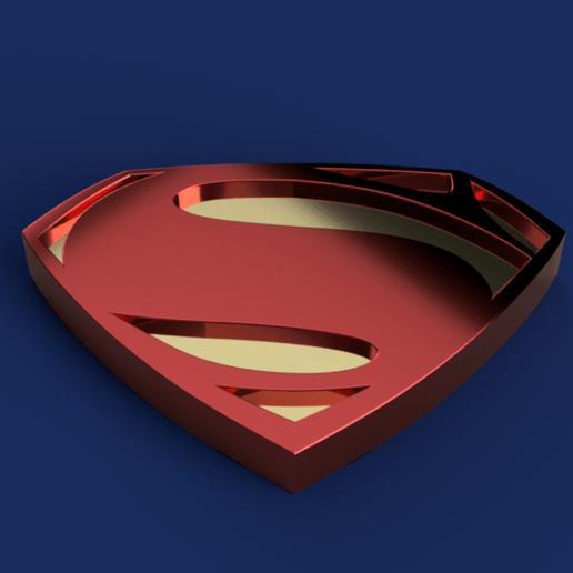 Télécharger fichier imprimante 3D gratuit Insigne de Superman, Piggie