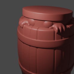 Download free 3D printer files Barrel Minion, Piggie