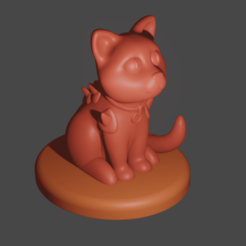 cat2.png Download free STL file Armored Cat • 3D printer design, Piggie