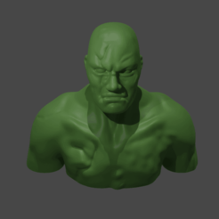 mutantman.png Download free STL file Mutant Man • Design to 3D print, Piggie