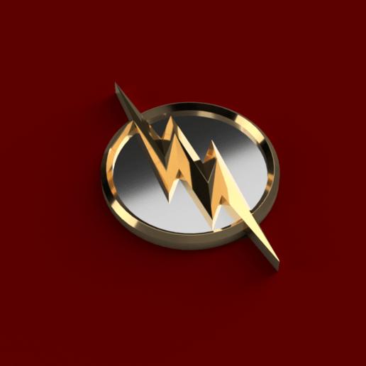 Télécharger fichier impression 3D gratuit L'insigne du Flash, Piggie