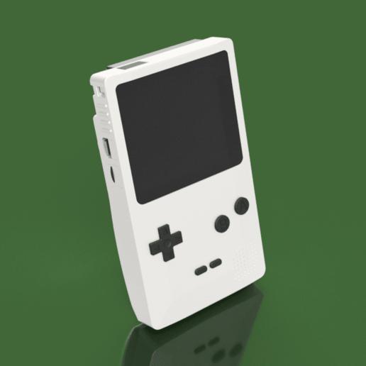 Télécharger modèle 3D gratuit Couleur Gameboy, Piggie