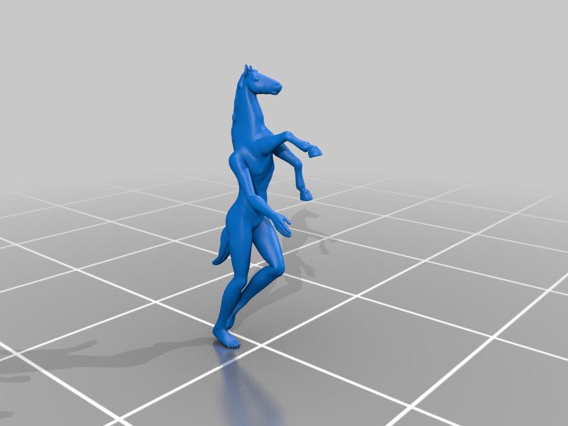 reversecentaur.png Download free STL file Reverse Centaur • 3D printer design, Piggie