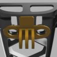 Download free 3D printing files Dead Simple Bebop 2 GoPro Mount, Piggie