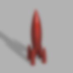 Red_Rocket.stl Download free STL file Red Rocket [Fallout 4] • 3D printable object, Piggie