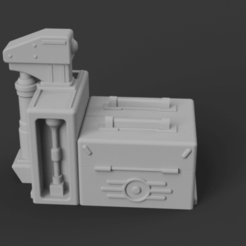 Download free STL file Fallout 76 C.A.M.P. • 3D printable template, Piggie