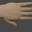 hand.png Download free STL file Dismembered Hand [Halloween] • 3D print object, Piggie