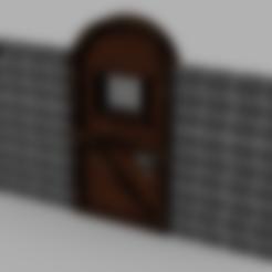 Télécharger fichier STL gratuit Porte de la cellule du donjon • Design à imprimer en 3D, Piggie