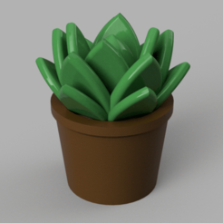 Download free STL file Houseplant • Object to 3D print, Piggie