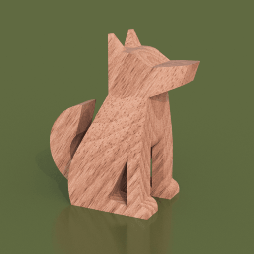 Download free 3D printer designs Dog Totem, Piggie