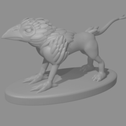 BirdBeast.png Download free STL file Bird Beast • 3D printing template, Piggie