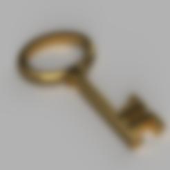 Download free 3D printer designs Old Brass Key, Piggie