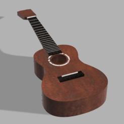 Download free 3D printing designs Ukulele, Piggie