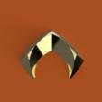 Aquamans_Symbol_1_Sided.png Download free STL file Aquaman's Shield • 3D print object, Piggie