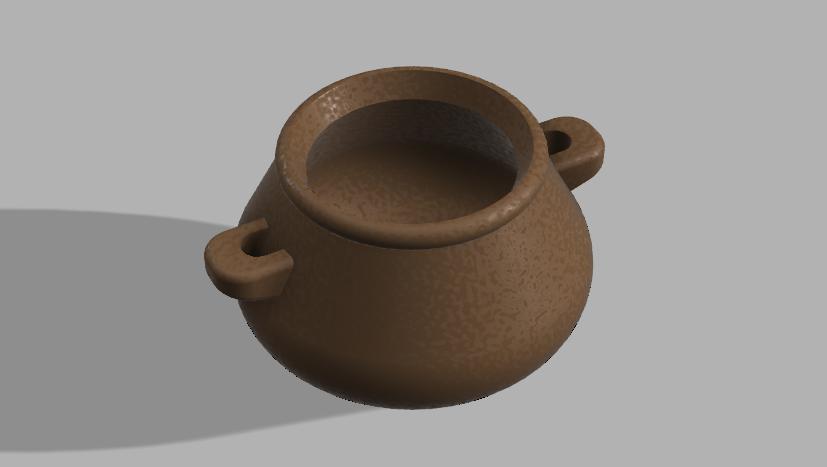 Sugar_Pot_wo-lid.PNG Download free STL file Sugar Pot • 3D printable template, Piggie