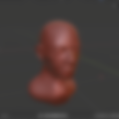 Download free 3D printing files Bust of a Man, Piggie