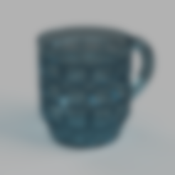 Download free 3D printing models Pencil Mug, Piggie