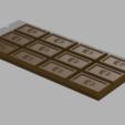 Chocolat_Bar.PNG Download free STL file Chocolate Bar • 3D printable model, Piggie