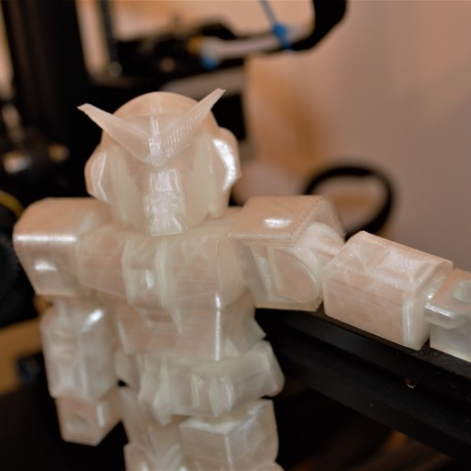 gundam1.jpg Download free STL file Gundam inspired robot toy • 3D print model, Piggie
