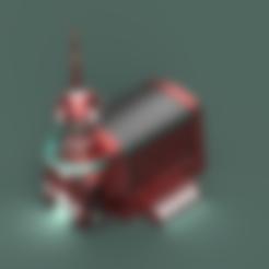 Tower-Room-Bottom.stl Télécharger fichier STL gratuit Planète Express 3030 • Objet à imprimer en 3D, Piggie