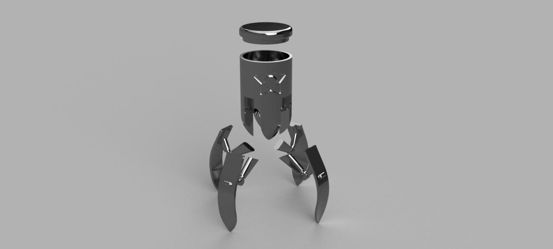 Liberator_v2_breakdown.png Télécharger fichier STL gratuit Libérateur [Fallout 76] • Modèle imprimable en 3D, Piggie