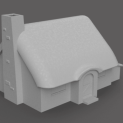 Hut.png Download free STL file Medieval Hut • Model to 3D print, Piggie