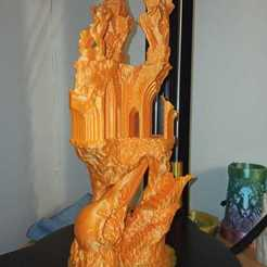 Download OBJ file Ancient Raven Castle • 3D printing model, Piggie