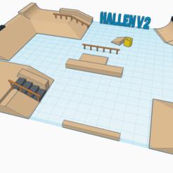 Download free 3D printing files Hallen v2, mathiassag