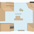 Skatehallen by Matty (4).png Télécharger fichier STL gratuit Hallen v2 • Objet pour impression 3D, mathiassag
