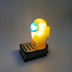 IMG_20200926_201212.jpg Descargar archivo 3MF gratis Among Us lamp battery case • Plan para imprimir en 3D, raymundojimz
