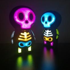 IMG_20200916_131527.jpg Download free STL file Cute Skull battery holder • 3D printer model, raymundojimz